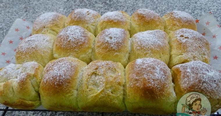 Colchones de naranja y vainilla  -Pan Brioche. ¡Esponjoso, suave y exquisito!