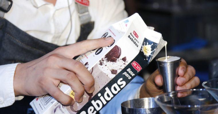 Atención Mixólogos, Baristas y Cocineros: Rich's presentó su nueva línea de Bases para Bebidas.