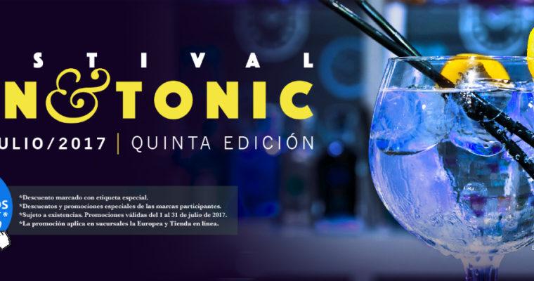 Festival Gin & Tonic 2017: Lo mejor de la Ginebra mundial en México, cortesía de La Europea.
