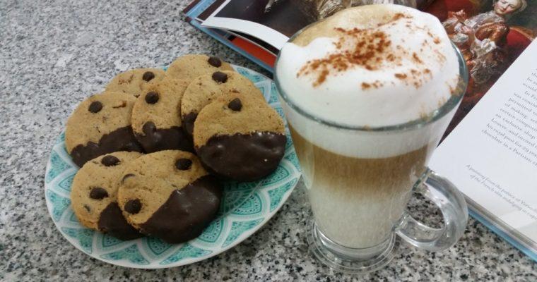 Cookies de vainilla con chispas de chocolate