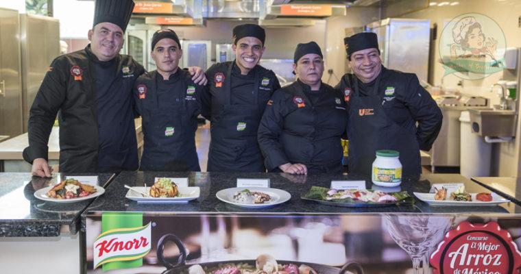 """Chihuahua se lleva el premio a """"El mejor Arroz de México 2017 para Restaurantes"""" de Knorr"""