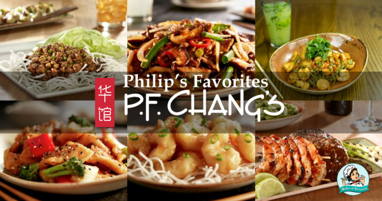Philip's Favorites: El nuevo y delicioso menú de temporada de P.F. Chang's
