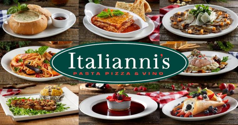 La Navidad llegó al nuevo menú de Italianni's