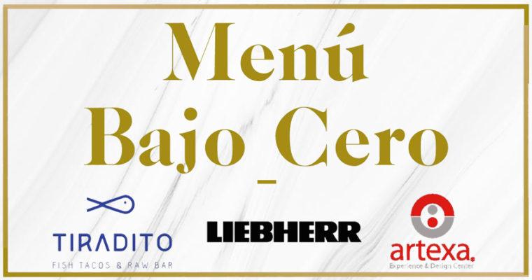 """""""Menú bajo Cero"""": Una exquisita velada con Liebherr y Artexa"""