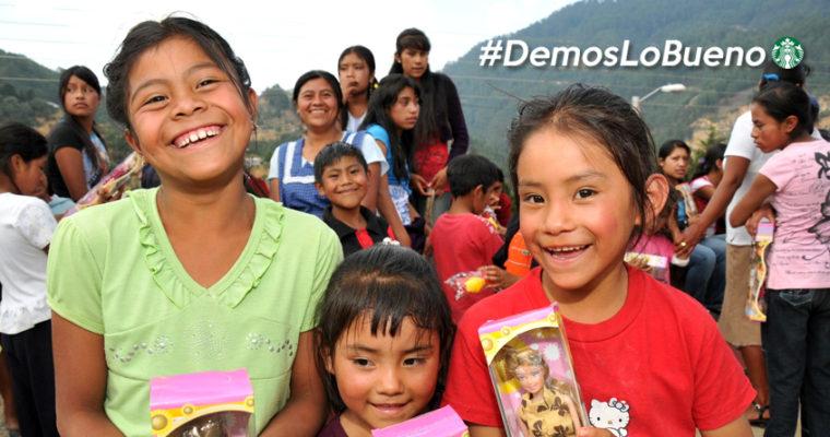 #DemosLoBueno: Starbucks inicia colecta de ropa de abrigo y juguetes