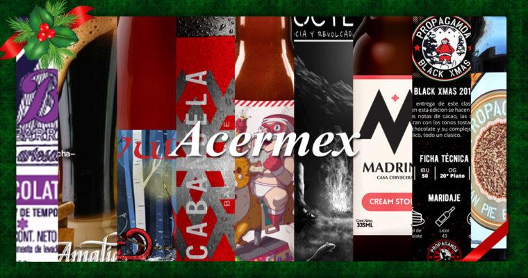 Acermex presenta su portafolio 2017 de Cervezas Navideñas Edición Especial
