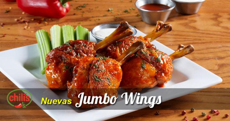 Chili's arranca el 2018 presentando sus nuevas -y deliciosas- Jumbo Wings