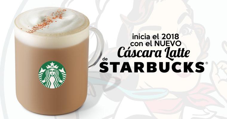 Starbucks México comienza el 2018 presentando el nuevo Cáscara Latte