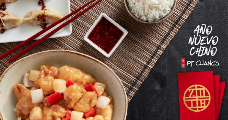 Celebra el Año Nuevo Chino con los platillos especiales de P.F. Chang's.
