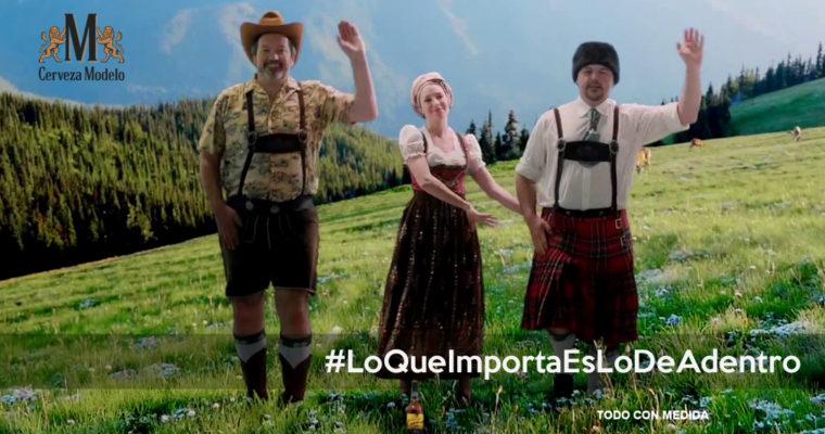 """""""Lo que importa es lo de adentro"""", la nueva campaña de Cerveza Modelo"""