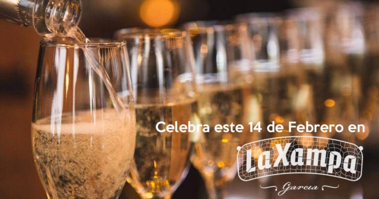 Celebra este 14 de Febrero con el menú especial de La Xampa García