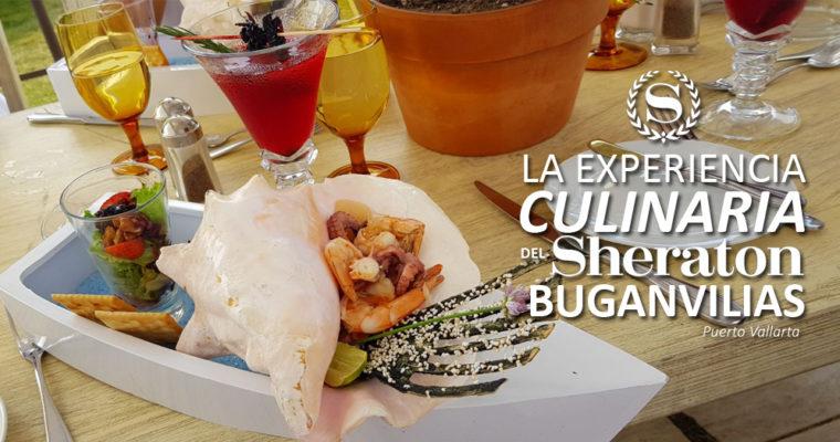 La experiencia Culinaria del Sheraton Buganvilias Puerto Vallarta