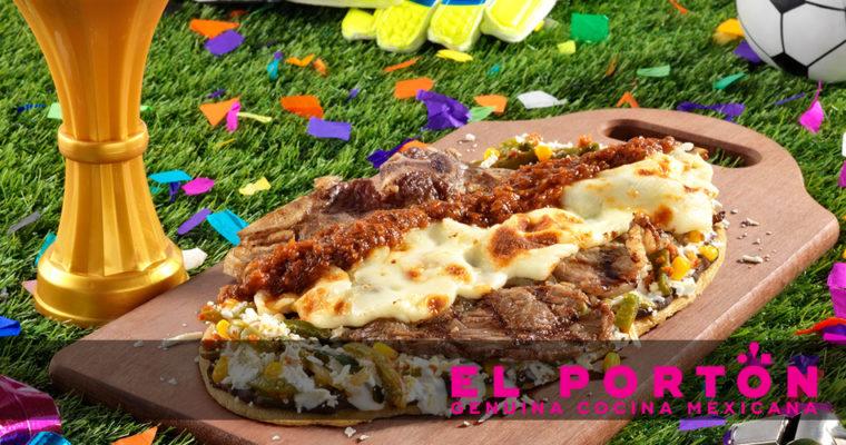 Nos invitaron a probar los deliciosos Huaraches de la Feria Futbolera de El Portón.