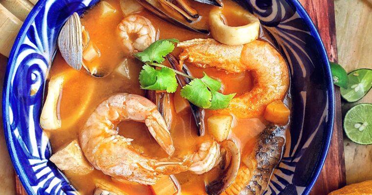 Deliciosa Sopa de Mariscos para esta cuaresma.